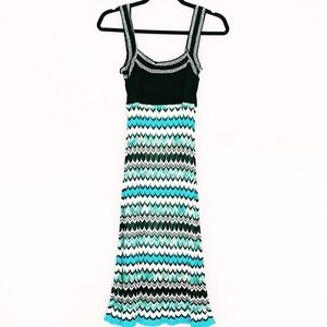 Bebe Crochet Midi Dress, Size M